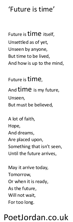 23. Future is time Poet Jordan Volume 30
