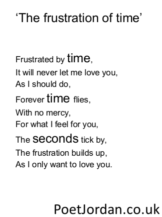 9. The frustration of time Poet Jordan Volume 30