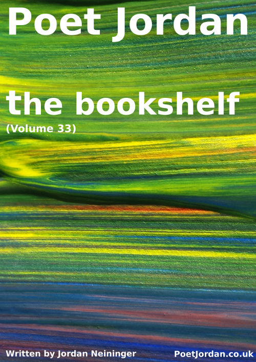 Poet Jordan Volume 33 - the bookshelf