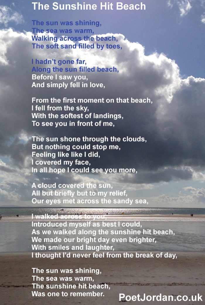 13 The Sunshine Hit Beach Poet Jordan Volume 23