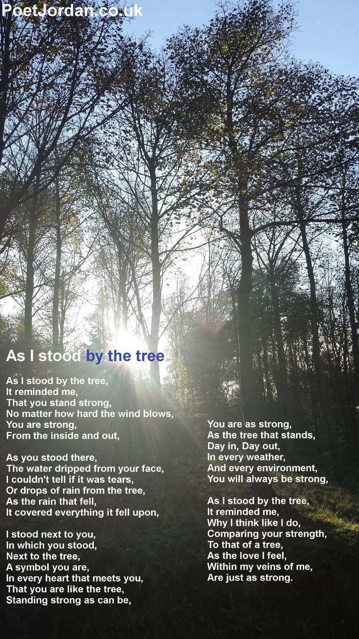 4 As I stood by the tree Poet Jordan Volume 23
