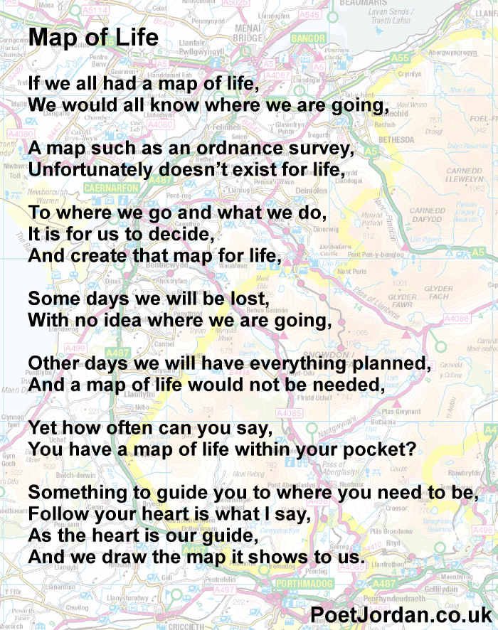 5 Map of Life Poet Jordan Volume 23