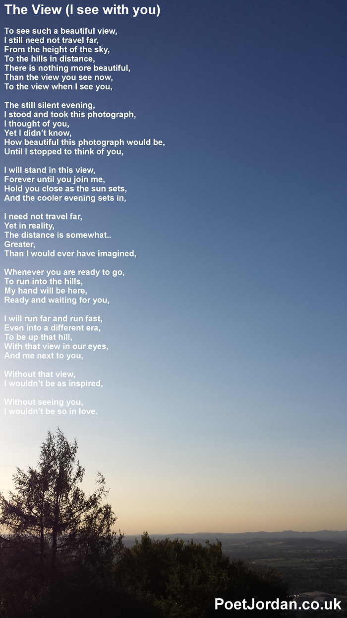 6 The View I See With You Poet Jordan Volume 23