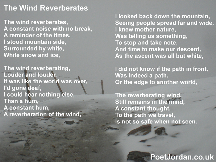 7 The Wind Reverberates Poet Jordan Volume 23