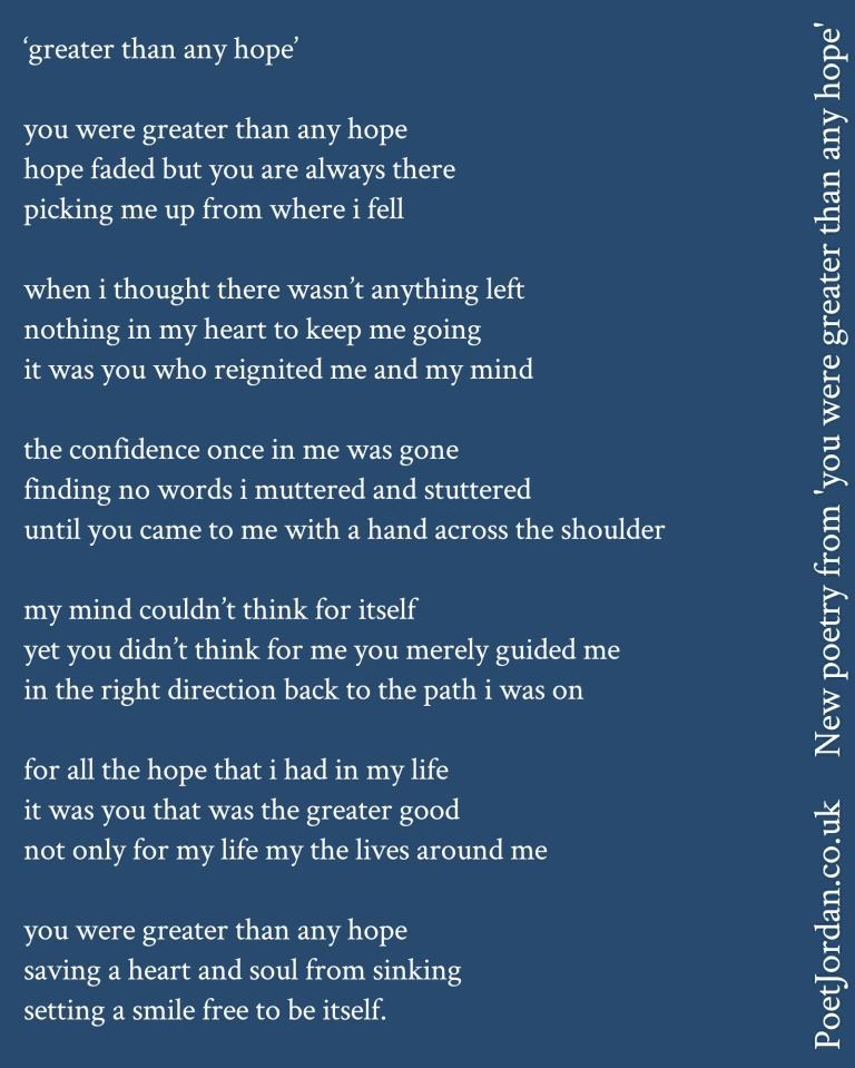 Poet Jordan Greater thah any hope Volume 44.jpg